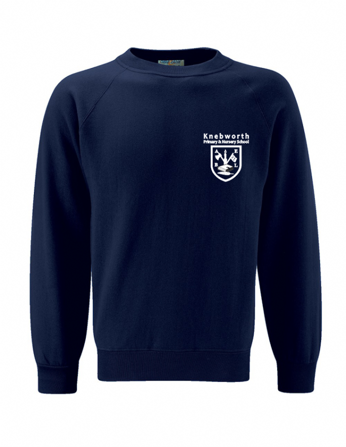 Knebworth Primary New Navy Sweatshirt